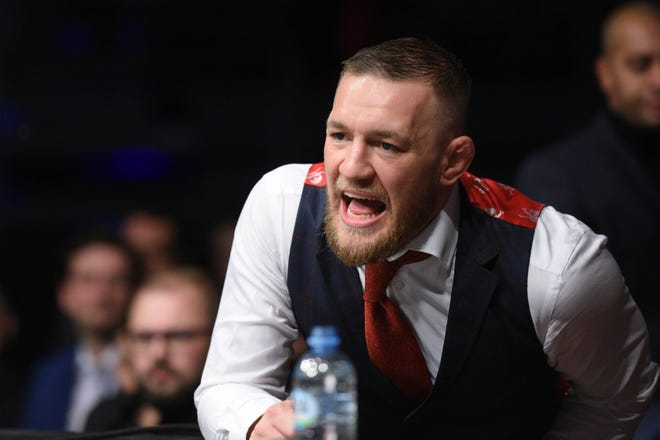 Conor McGregor is scheduled fight in UFC 229 in Oct. 6, his first UFC event since November 2016.