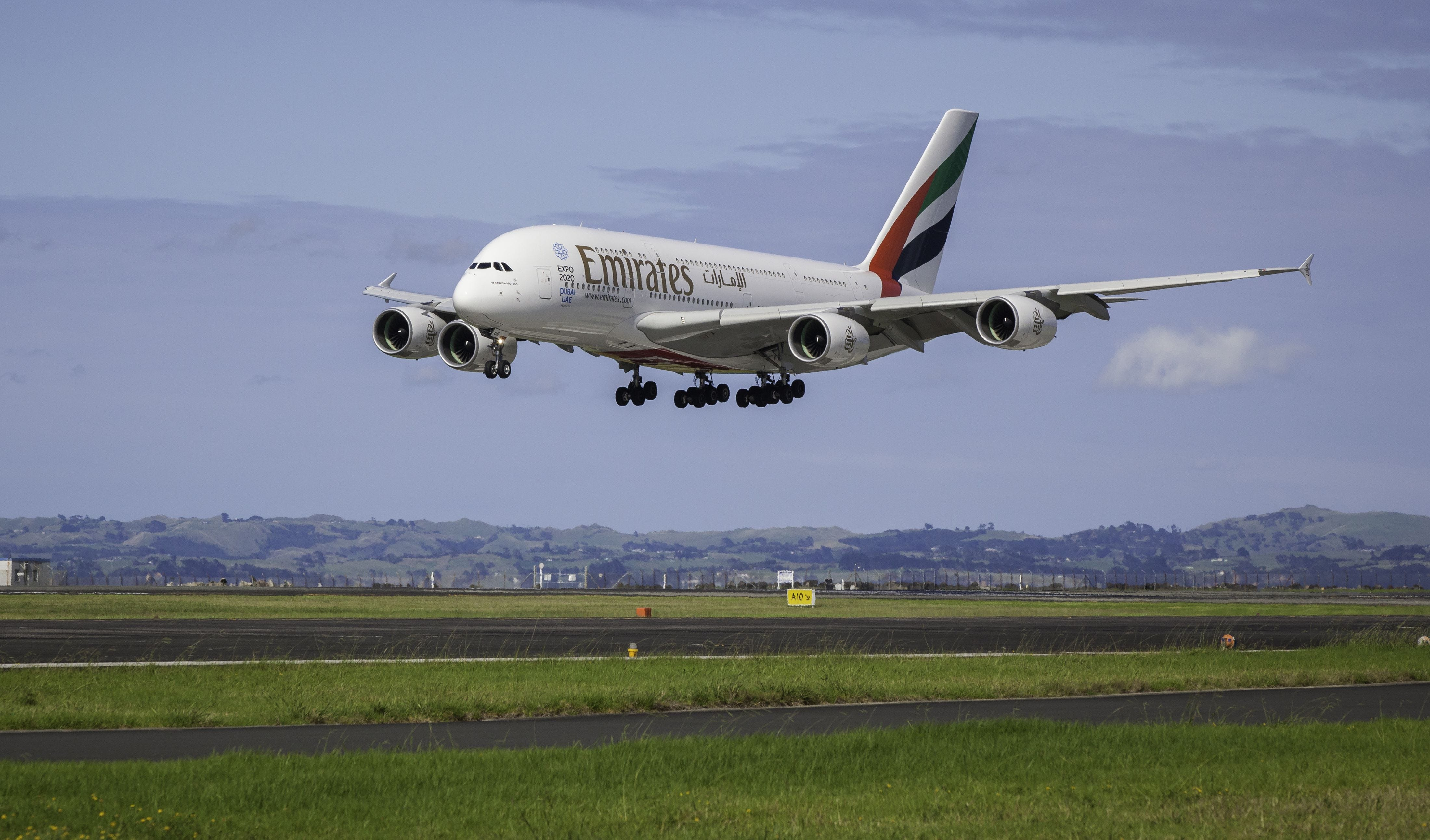 Emirates plane quarantined in NYC at John F. Kennedy airport after numerous fall ill