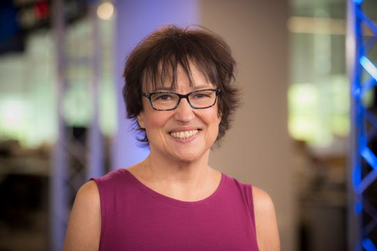 """July 13, 2017 -- McLean, VA, U.S.A  -- Psychologist Melanie Greenberg recently released her book, """"The Stress-Proof Brain,"""" on the brain's response to stress and what we can do to mitigate its effects.  --    Photo by Jasper Colt, USA TODAY Staff"""