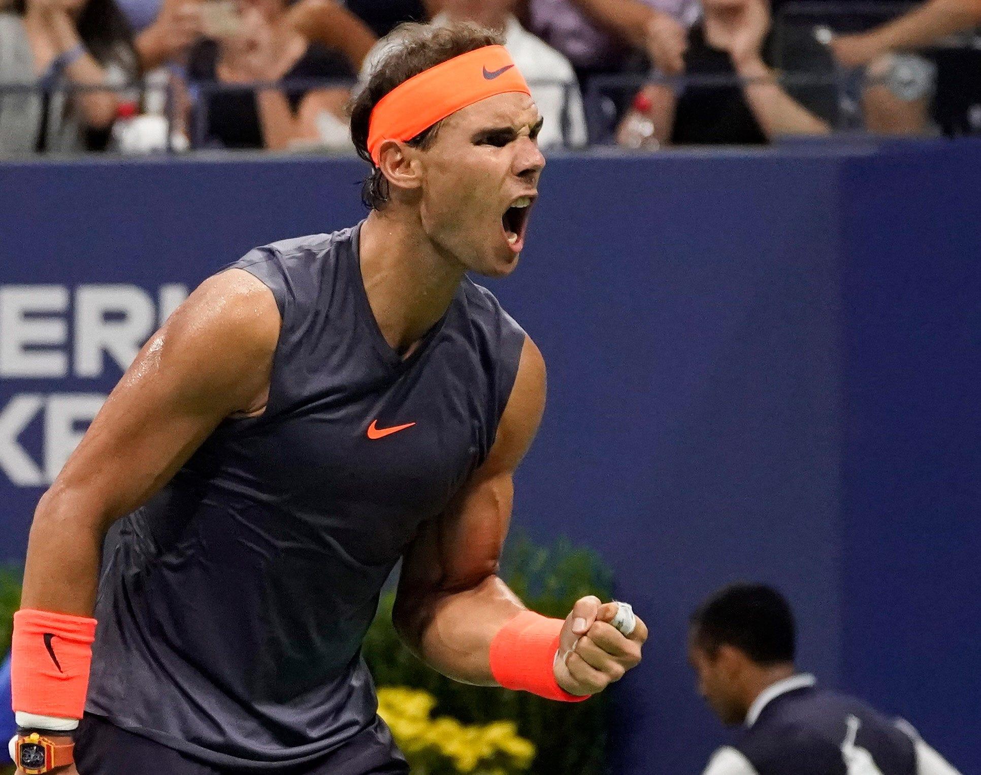 Rafael Nadal survives Dominic Thiem in 4-hour, 49-minute marathon at US Open