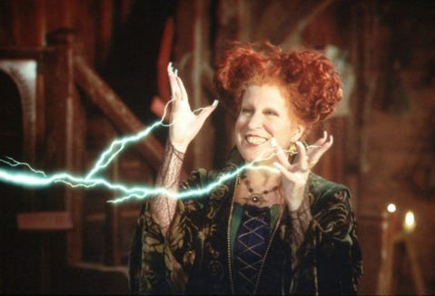 "The ""Hocus Pocus"" marathon on Freeform is on Oct. 31."
