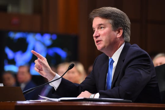 Supreme Court Associate Justice nominee Brett Kavanaugh appears before the Senate Judiciary Committee during his confirmation hearing on Sept. 5, 2018, in Washington, D.C.