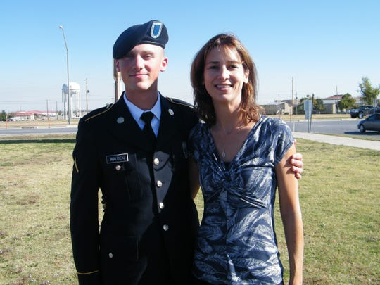 Emily Walden lost her son TJ, a Kentucky National Guardsman to the opioid epidemic in 2012.  Em