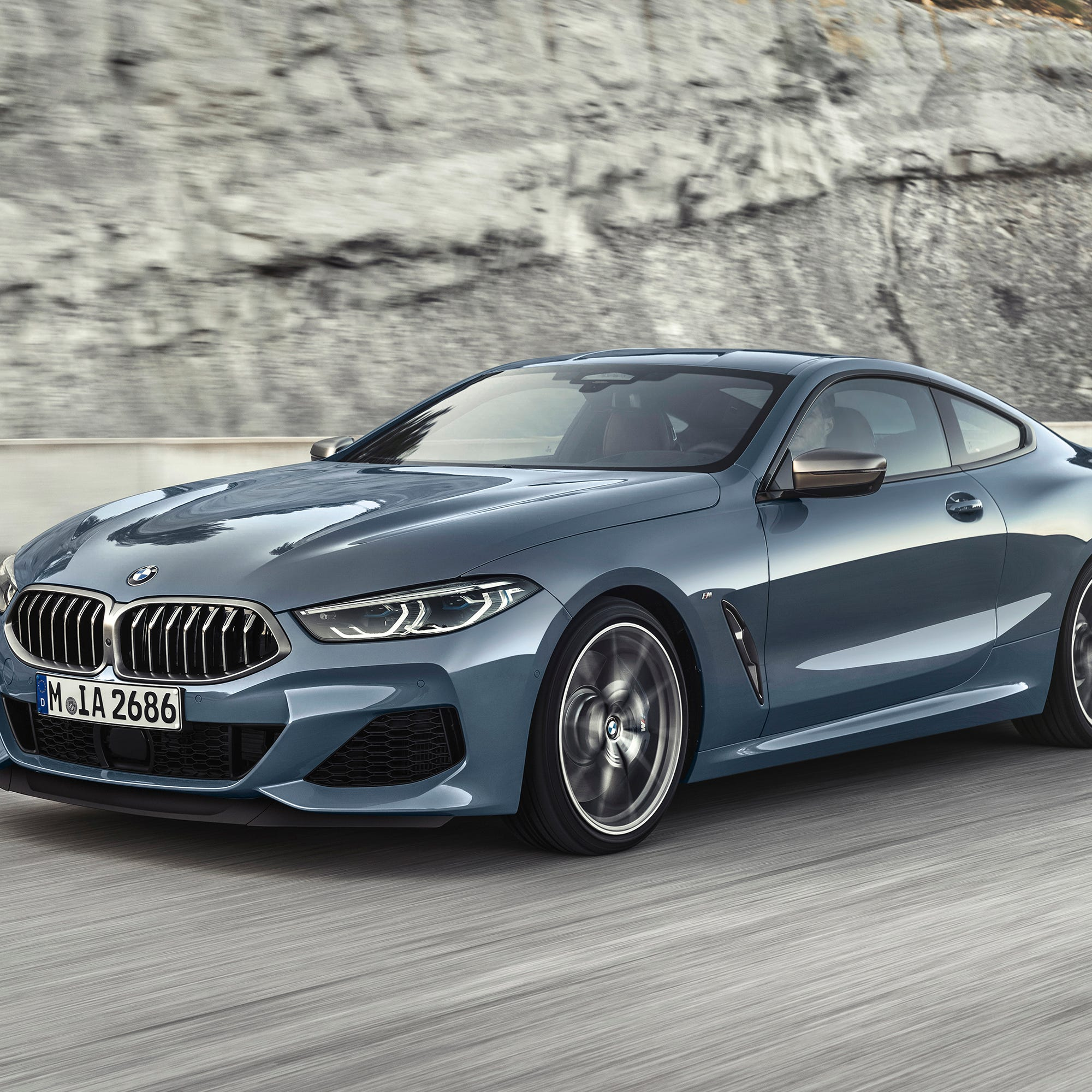 This undated photo provided by BMW shows the 2019 BMW M850i xDrive, which returns after 20 years to replace the 6 Series coupe. (Daniel Kuras/BMW of North America via AP)