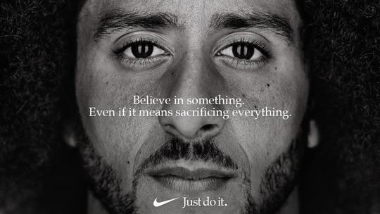 Colin Kaepernick's TV ad for Nike will air during the regular season opener on Thursday.