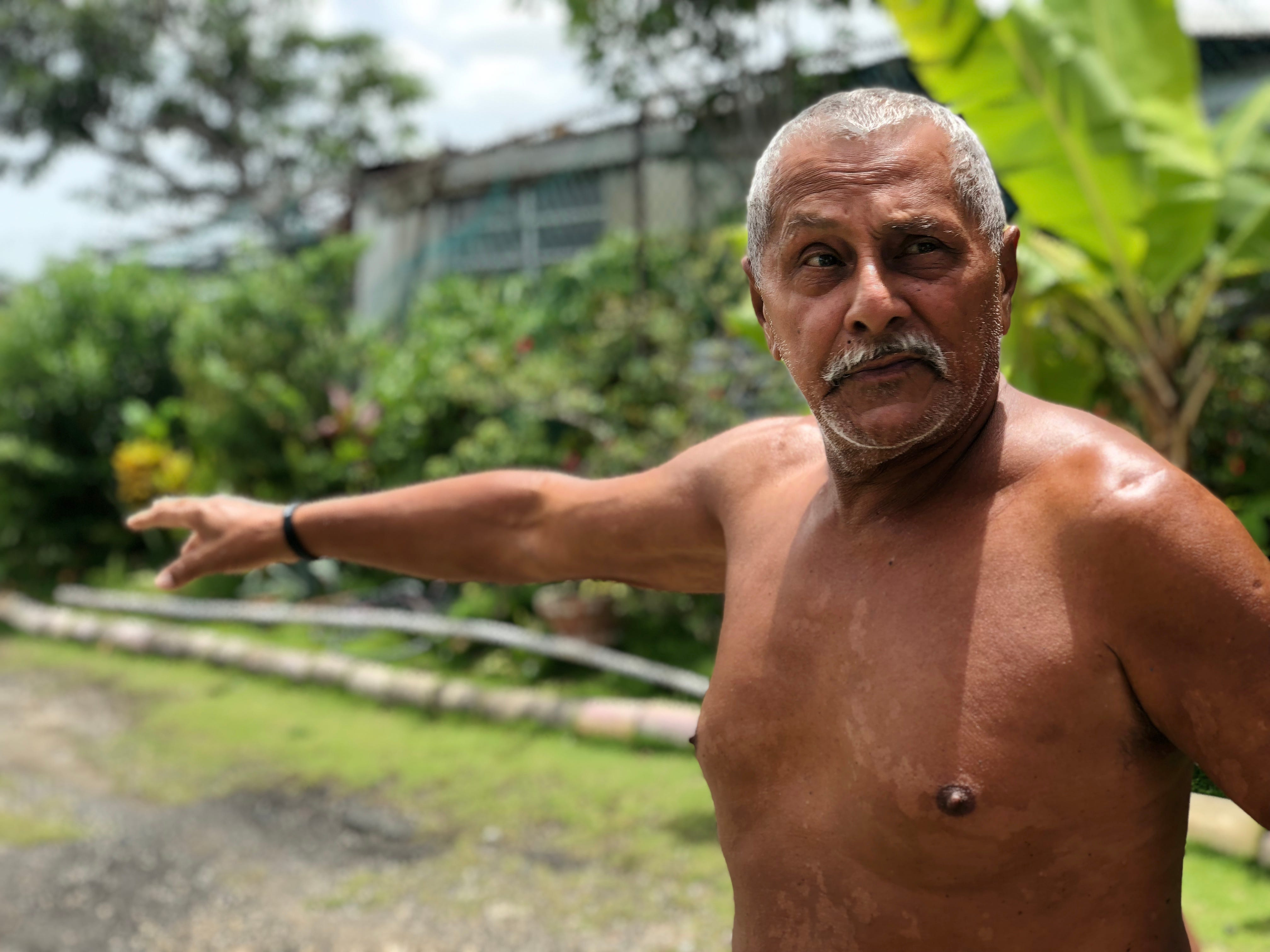 When municipal officials visited Victor Torres, 77, to offer him $128,000 for his home, he chased them off his lot with a machete. He said the way his neighbors have been displaced from his neighborhood has been heartbreaking.