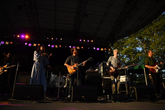 Phil Lesh and the Terrapin Family Band with Nicki Bluhm and Eric Krasno perform in New York City's Central Park on Wednesday, September 5, 2018. (second from right) Phil Lesh.