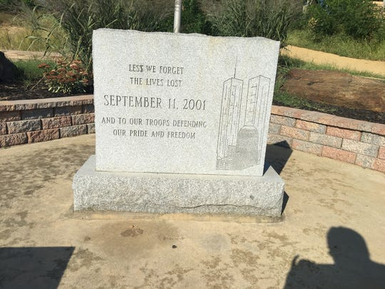 The Keansburg Borough 9/11 Memorial, which will be next to the planned EMS First Responders Memorial.
