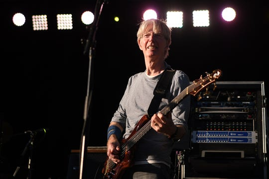 Phil Lesh and the Terrapin Family Band with Nicki Bluhm and Eric Krasno perform in New York City's Central Park on Wednesday, September 5, 2018. (center) Phil Lesh.