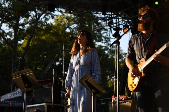 Phil Lesh and the Terrapin Family Band with Nicki Bluhm and Eric Krasno perform in New York City's Central Park on Wednesday, September 5, 2018.