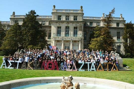 Monmouth University recognizes seven fraternities and nine sororities.