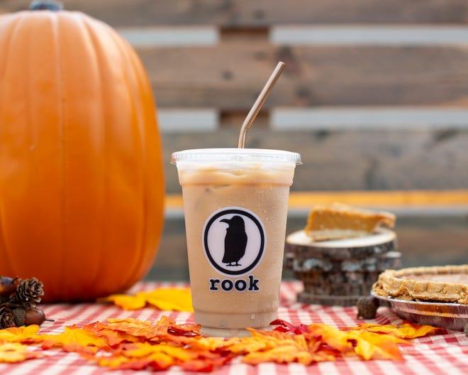 Love pumpkin? Love coffee? Get to Rook for pumpkin cold brew.