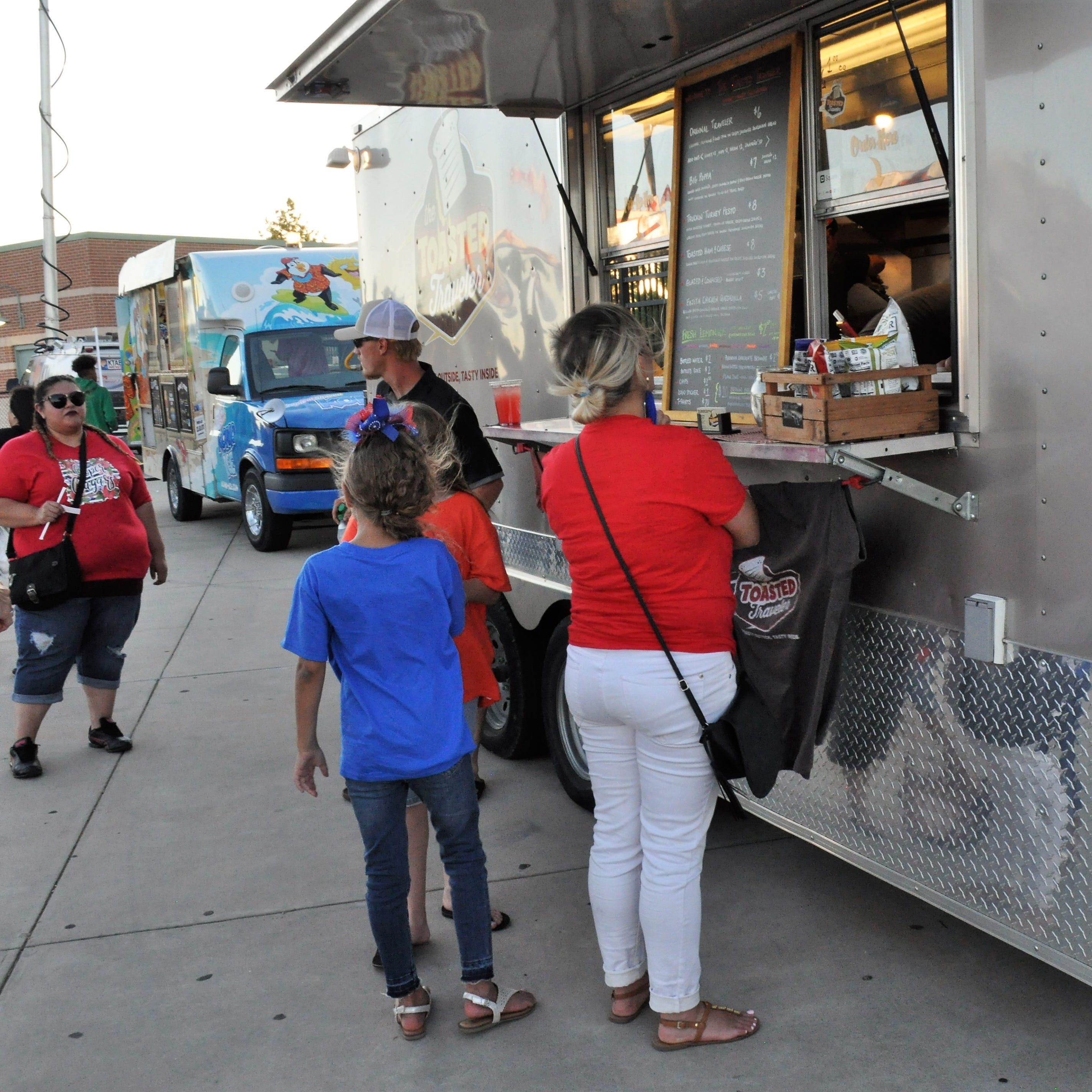 Food trucks expand game-day dinner options at Shotwell Stadium