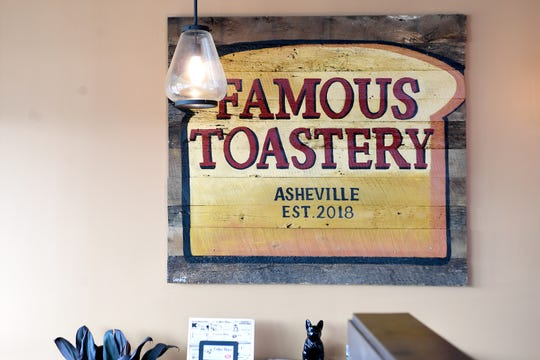 Famous Toastery's Asheville location has closed.