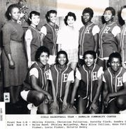 This undated photo shows a Hamblin Community Center girls basketball team.