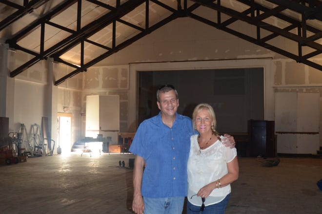Lori Haywood-Mains and Rollin Mains plan on converting 242 Hamblin back into a banquet and community center.