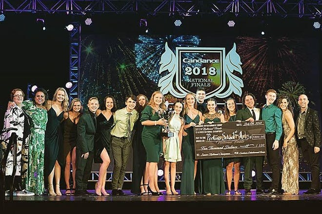 Perkins School of the Arts received top honors at the Candance North American National Finals in July.