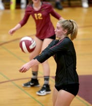 As an outside hitter, much of Kingston's offense runs through Ava McCabe.