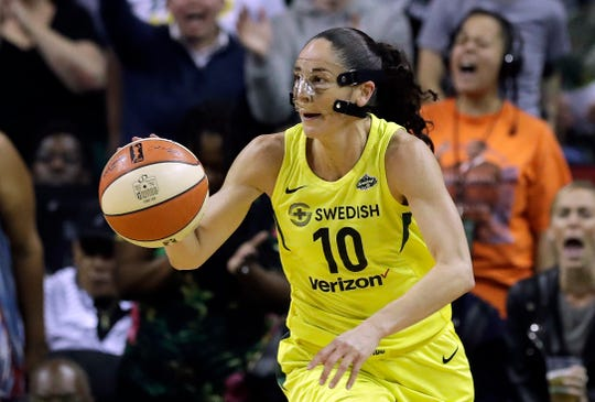 Sue Bird will be seeking her third title with the Storm.