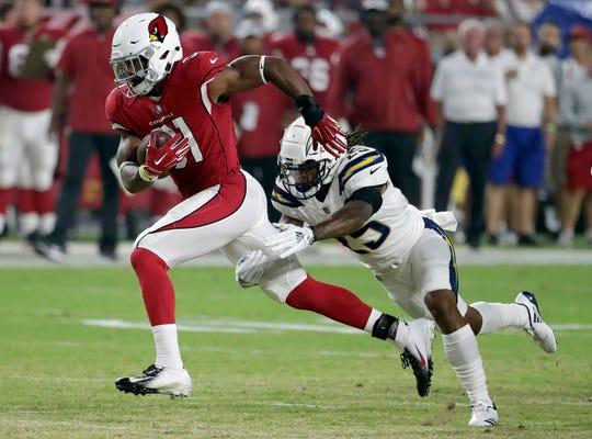 Arizona Cardinals running back David Johnson