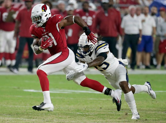 Arizona Cardinals running back David Johnson