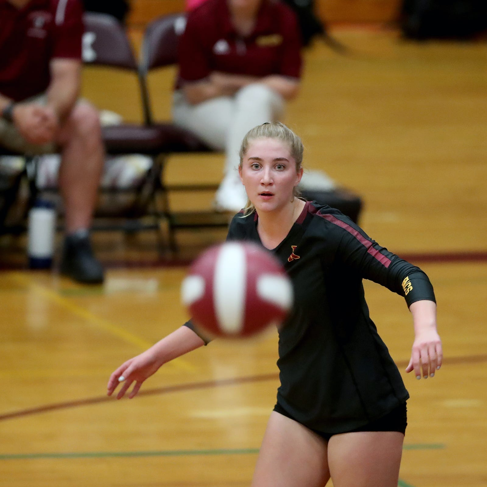 McCabe, Bailey pick up league volleyball honors