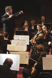 Aaron Collins has led the Space Coast Symphony Orchestra since it began in 2008.