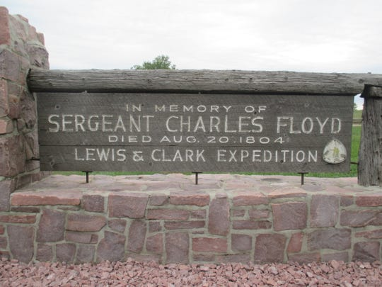 Sgt. Charles Floyd, the only man who died on the 1804 Lewis and Clark Expedition, is memorialized in Sioux City.