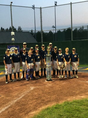 All Out Pack, a 12-and-under baseball team from Gloucester County, won a national tournament in Cooperstown, N.Y.