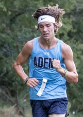 Adena's Emmitt Cunningham running at Hopkins Farm in 2018. After an injury his junior year kept him from running, Adena senior Emmitt Cunningham wants to prove he can make state again and cement his place as one of the top long distance runners in the area.