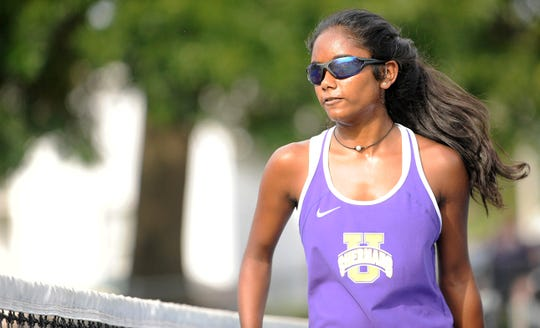 Unioto High School's Sylvia Gray competed at her third straight state tennis tournament on Friday at Lindner Family Tennis Center.