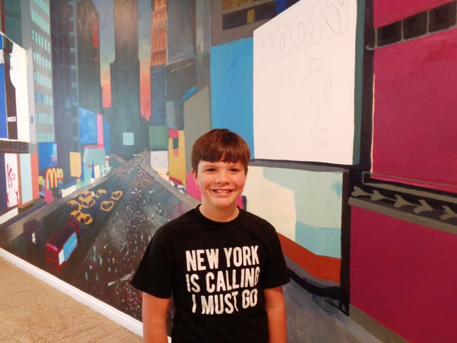 """Fourteen-year-old """"Broadway"""" Blake Funk is answering the call to dance entering Joffrey Ballet School in September."""