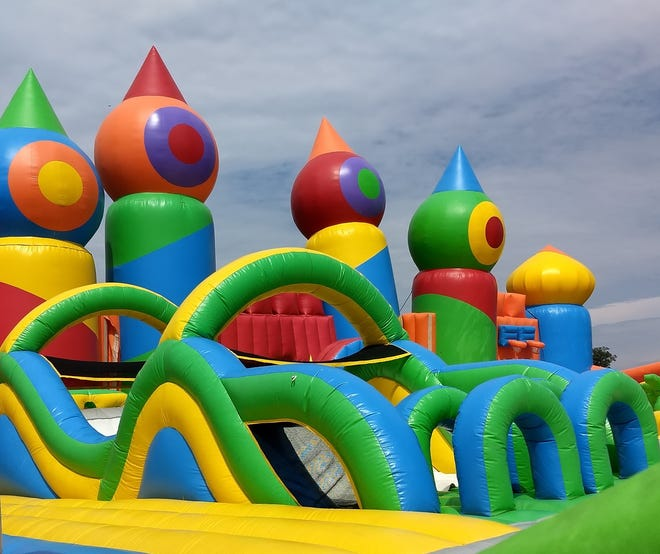 Big Bounce America is hosting an outdoor 10,000 square foot bounce house on Oct. 5-7 in Grove City at LVL UP Sports Paintball Park, 5390 Harrisburg Pike.