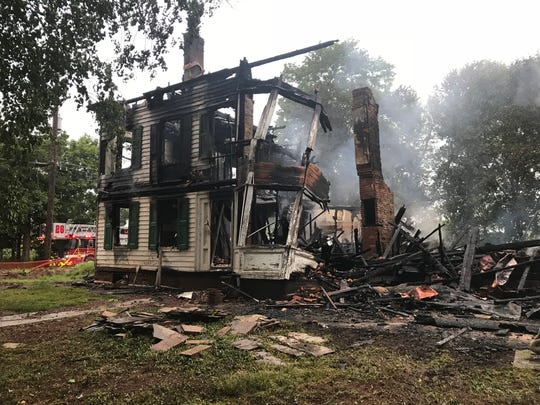 An investigation continues into an early morning fire in an unoccupied house on South Middlebrush Road Thursday. At 4:55 a.m., police responded to a reported structure fire and found the house fully engulfed in flames, said Franklin Police Lt. Philip Rizzo.