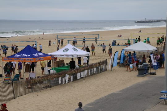 Big Brothers Big Sisters of Monmouth & Middlesex Counties (BBBSMMC) will hold their 12th Annual Beach Volleyball Tournament from 10 a.m. to 2 p.m. on Sunday, Sept, 16, on Main Street Beach in Manasquan.