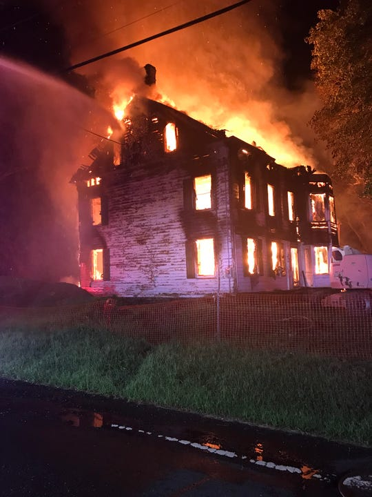 An investigation continues into an early morning fire in an unoccupied house on South Middlebrush Road Thursday. At 4:55 a.m., police responded to a reported structure fire and found the house fully engulfed in flames, said Franklin PoliceLt. Philip Rizzo.
