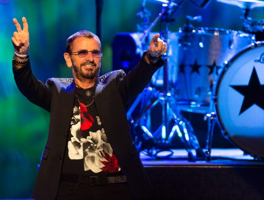 Ringo Starr and his All Starr Band perform at Stephens Auditorium in Ames Sept. 5, 2018.