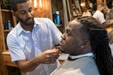 """Sebastian Jackson, of the Social Club Grooming Company, talks about barbershop culture, partnering with the NFL for """"Shop Talk"""" and social impact."""