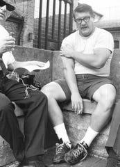 Alex Karras in 1957.