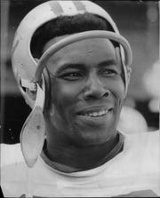 Lem Barney in his playing days as cornerback for the Detroit Lions.