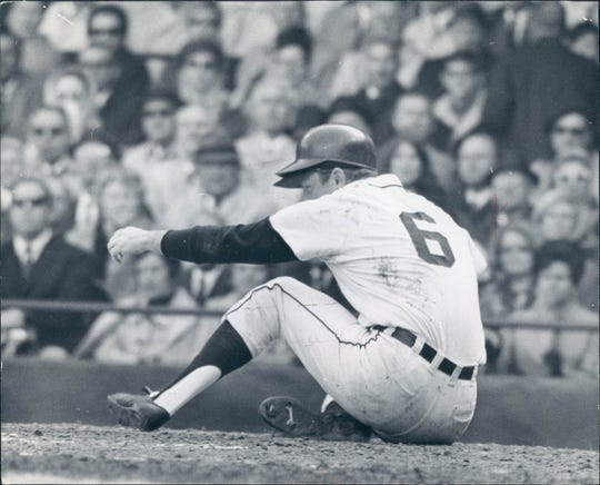 Al Kaline hit .287 in an injury-shortened 1968 season.