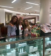 Raghad Farah, Jennifer Granger, and Kelle Ilitch host beauty event at Saks Fifth Avenue.