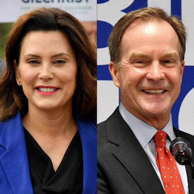 Michigan's next governor, Democrat Gretchen Whitmer, left or Republican Bill Schuette, likely will face economic tests that will shape their legacy, impact the state's improved competitive position. The challenge: to consolidate the gains, not squander them.