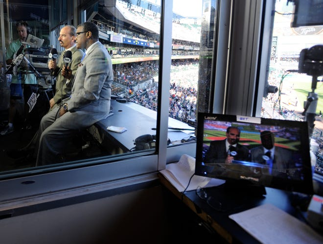 Mario Impemba, left; and Rod Allen will not continue as broadcasters on Tigers' FSD games this season, a station spokesperson said.
