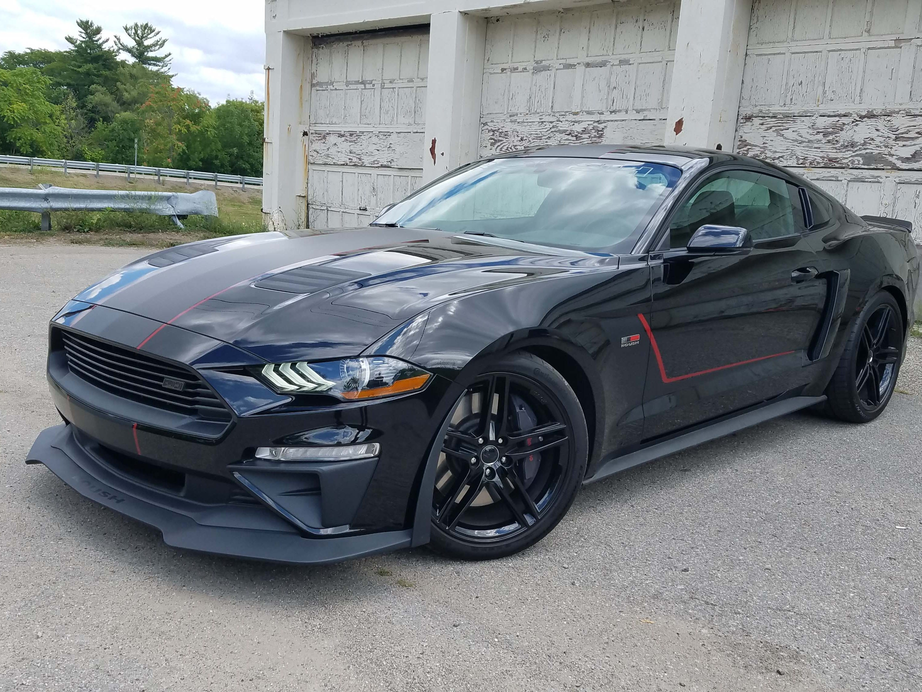 New for 2018, the Roush Jackhammer Mustang upgrades Ford's iconic pony with 710 horsepower and suspension upgrades for extreme performance. The base Mustang GT starts at $36,090 with the Jackhammer package starting at $14,765.