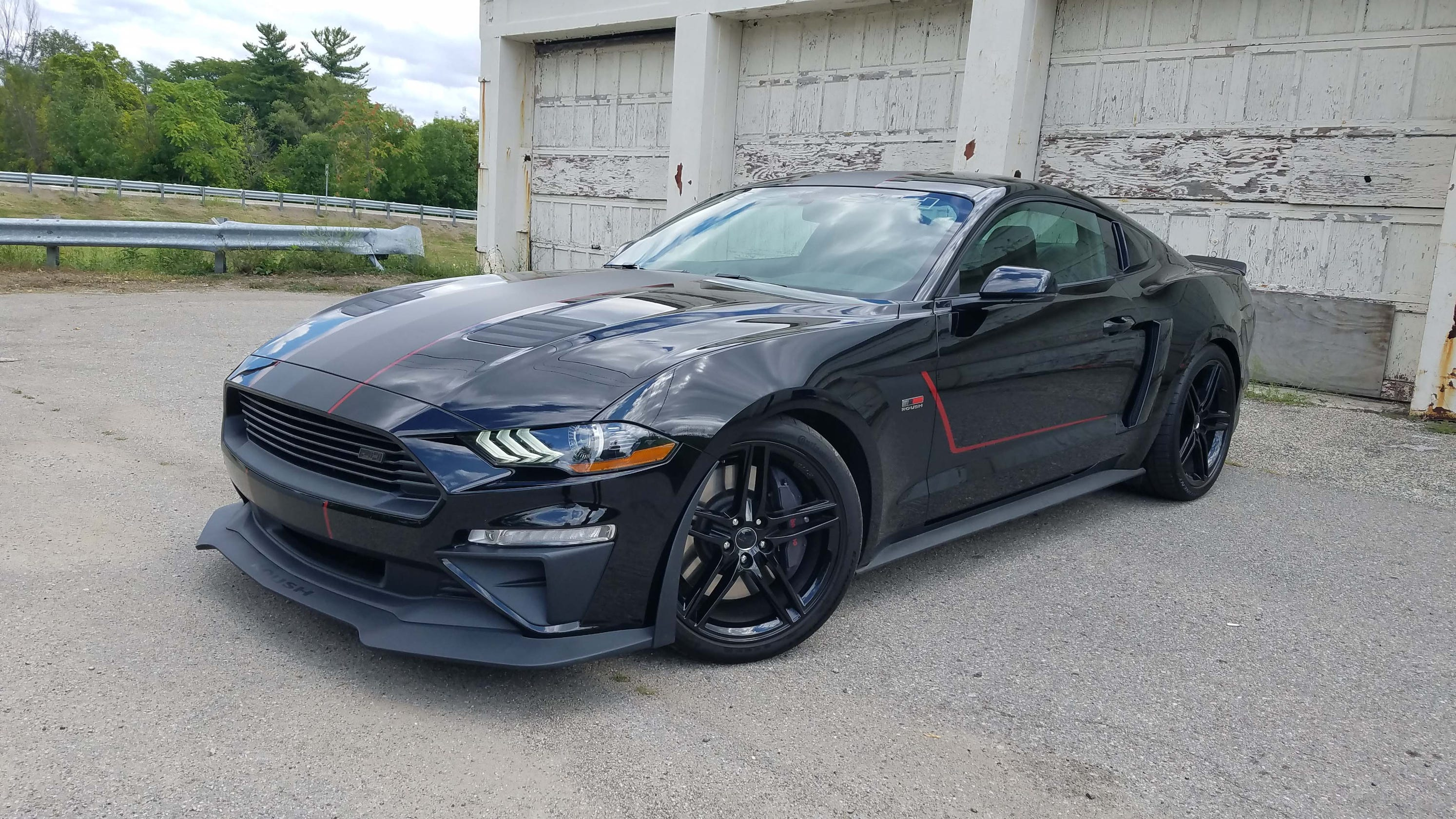 Roush jackhammer mustang joins the 700 hp club
