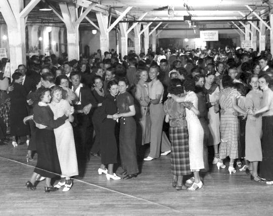 WPA workers dance in 1937.