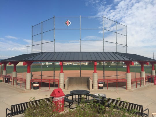 Windsor's Diamond Valley Sports Park has three ball fields but under a proposal the facility would be expanded.