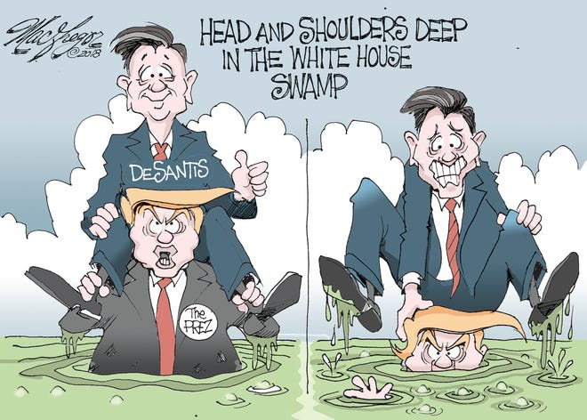 DeSantis and the swamp