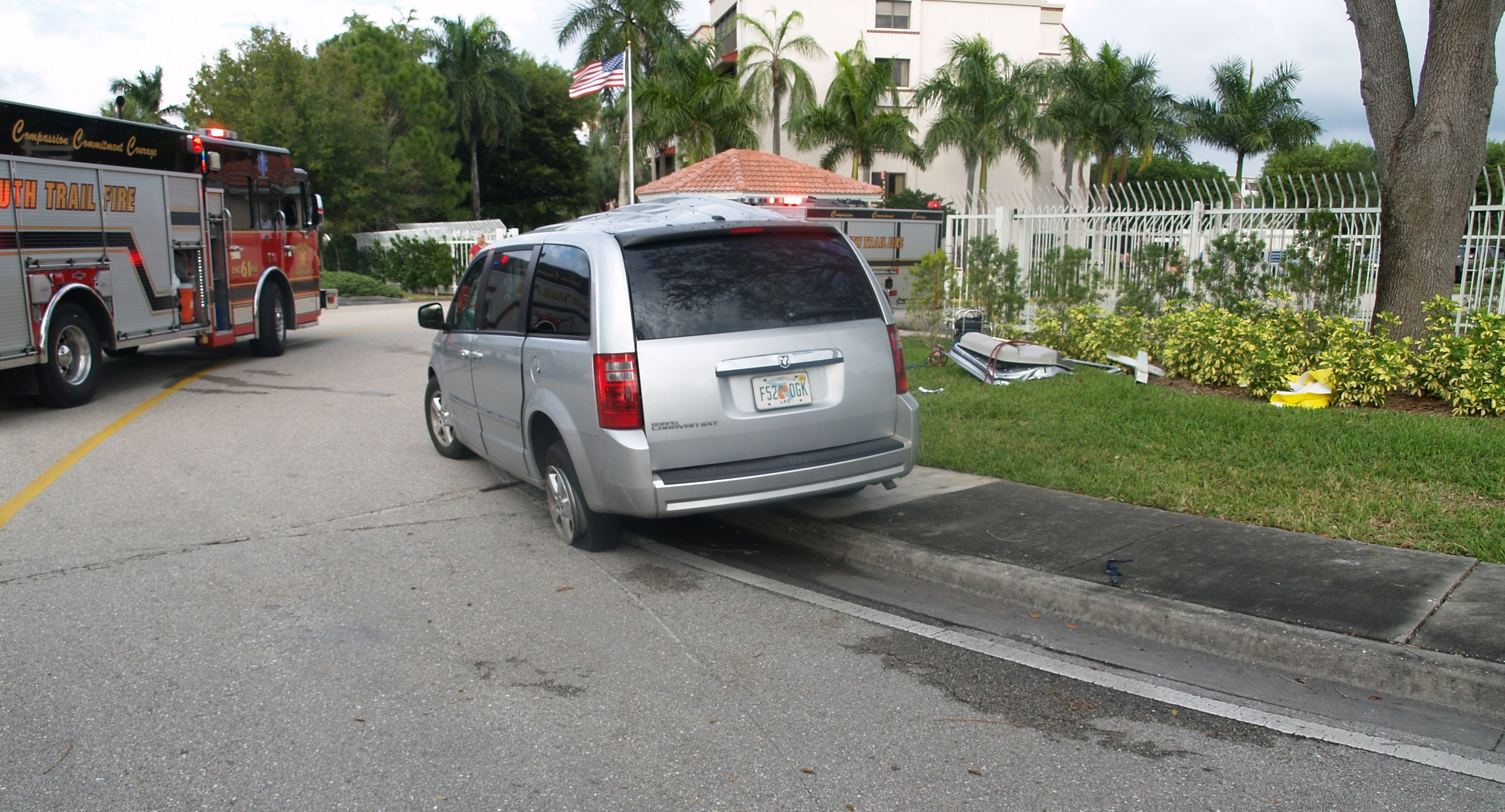 Evelyn Miozza, 78, was driving a 2008 Dodge Caravan when she made a left-hand turn and collided with motorcyclist Sean Parke in January 2014. Parke, who was speeding, died in the crash.